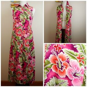 NWOT Maxi Dress or Jacket Button Front Size 10